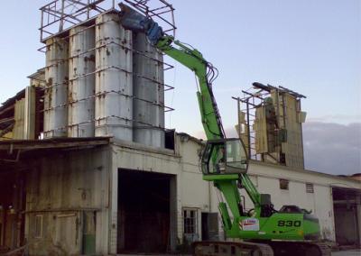 demolizione-impianto-di-silaggio